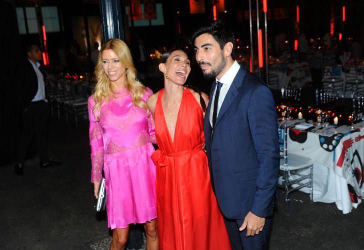 Nicole, María Cher y Moyano