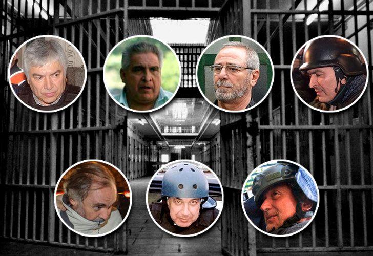 "Lázaro Báez, Ricardo Jaime, José López, Daniel Pérez Gadín, Claudio ""el Mono"" Minnicelli, Jorge Chueco y Juan Pablo 'Pata' Medina"