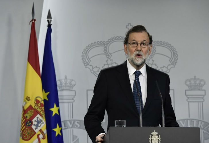 El presidente respaldó a las fuerzas policiales después de la represión en Cataluña.