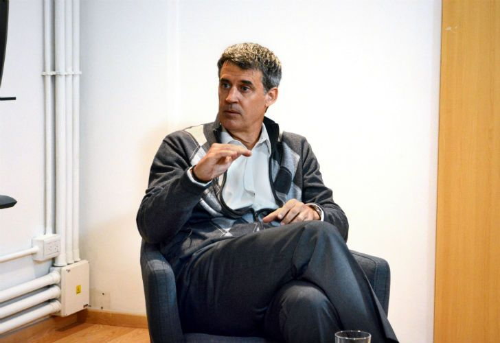 Alfonso Prat-Gay defiende el gradualismo.