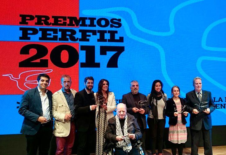 Ganadores de los Premios Perfil 2017