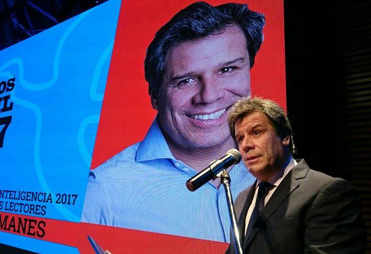 Facundo Manes, ganador del Premio Perfil Referente de la Inteligencia de los Argentinos 2017