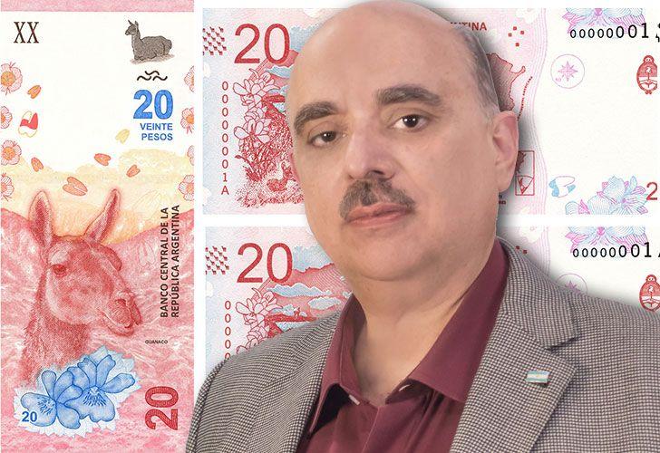 El referente del Partido Bandera Vecinal, Alejandro Biondini, criticó al Presidente por la imagen de un guanaco en reemplazo de la icónica representación de Juan Manuel de Rosas.