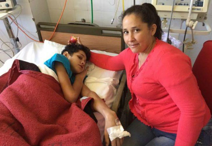 Fernando Almeida tiene 13 años y es oriundo de Corrientes. Necesita ser trasplantado.