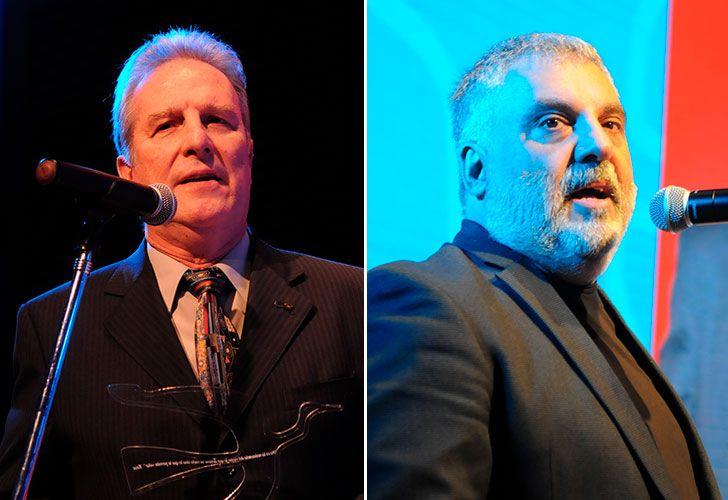 Ernesto Calvo y Alejandro Tantanian en los Premios Perfil 2017