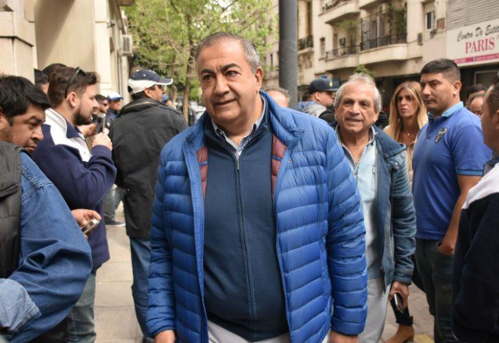 Héctor Daer tras la reunión del comité general de la CGT.