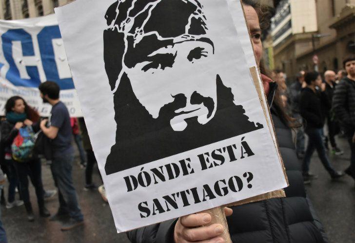 Santiago Maldonado fue visto con vida por última vez el 1 de agosto de 2017.