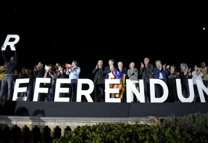 FÓRMULA REPETIDA. Los partidarios catalanes de la independencia defienden una herramienta que es utilizada por diversos actores políticos en distintos continentes.
