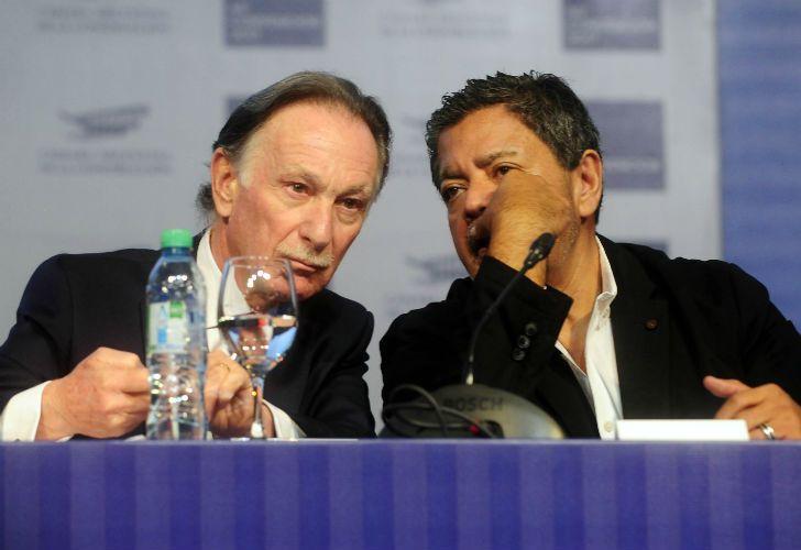 SINTONÍA. Gustavo Weiss y Martínez, en la misma línea.