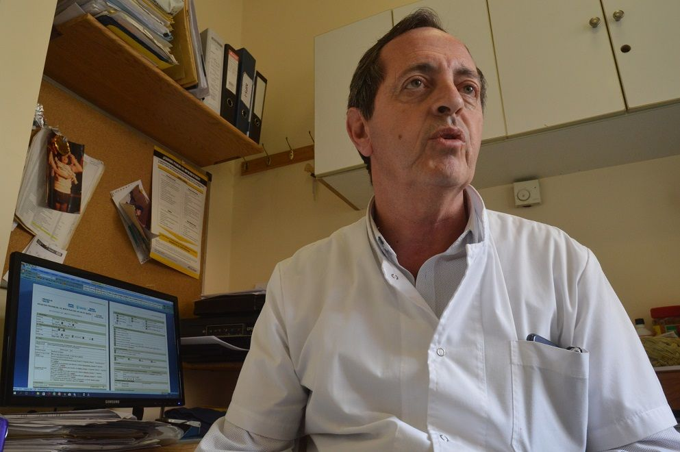 AVANCE. El doctor Norberto Guelbert resaltó la intervención y pidió recursos para afrontar la demanda que se generará de todo el país.