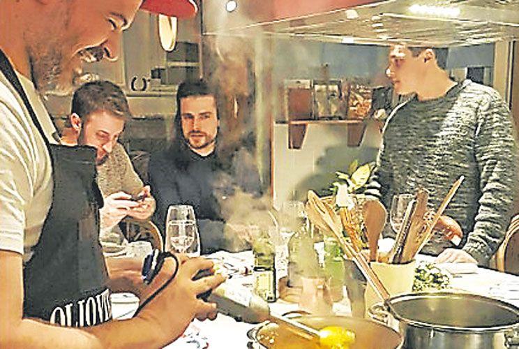 A cargo. Víctor García (@elgordococina) da cursos y comparte recetas con sus 300 mil seguidores de Instagram.