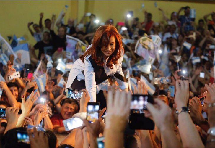 Cristina criticó al Gobierno durante un acto en Malvinas Argentina.