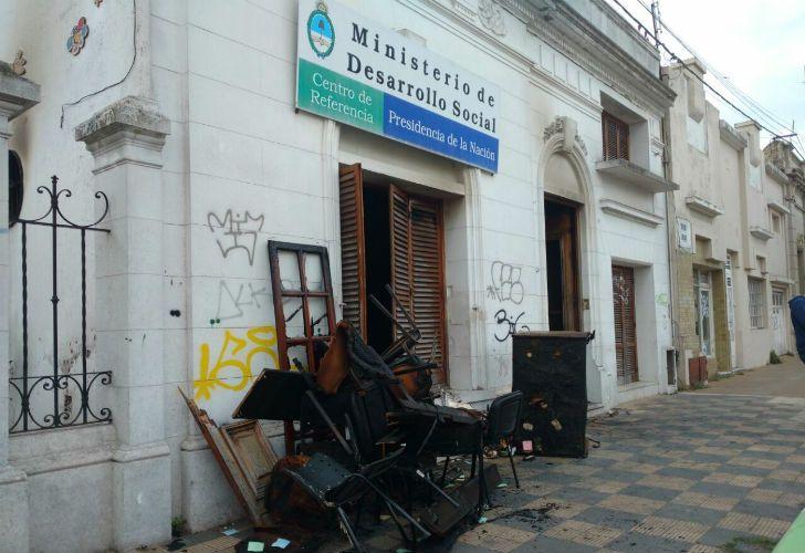 Incendiarion un establecimiento municipal en Olavarría.