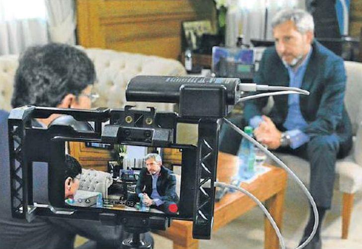 Rogelio Frigerio en Periodismo Puro, entrevistado por Jorge Fontevecchia.
