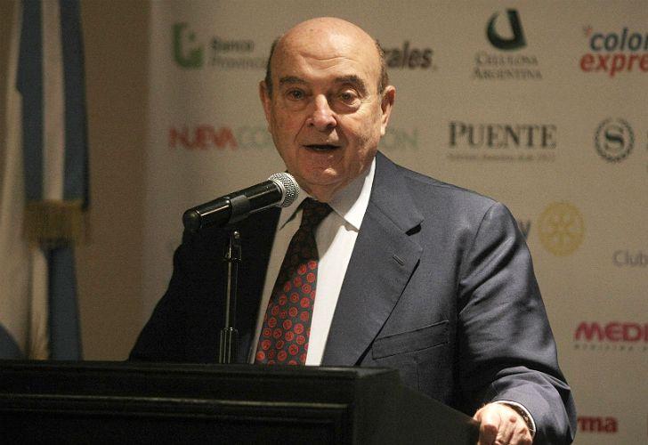 Domingo Felipe Cavallo, ex ministro de Economía.