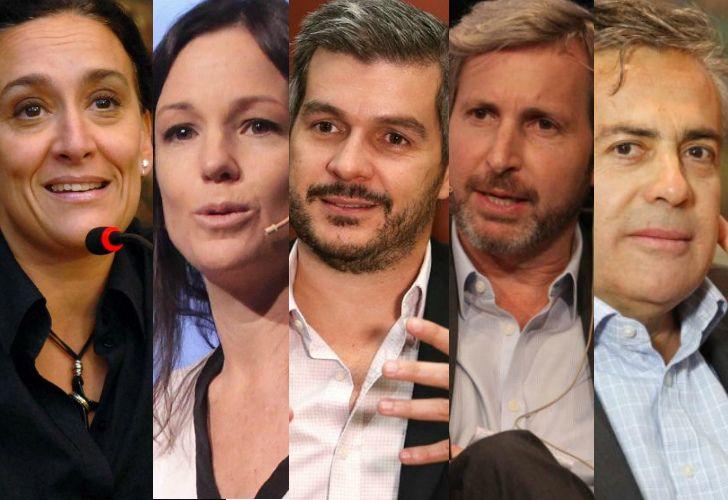 Nombres en danza: Michetti, Stanley, Peña, Frigerio, Cornejo.