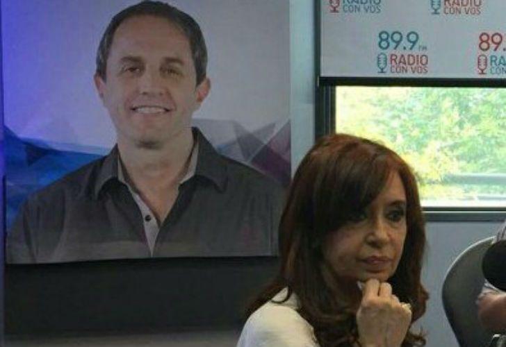 La expresidenta Cristina Fernández de Kirchner fue entrevistada por Elizabeth Vernaci.