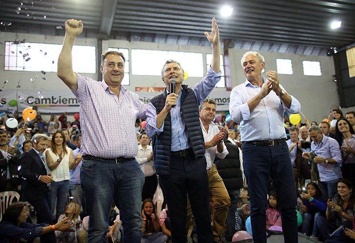 EL presidente Mauricio Macri en Entre Ríos