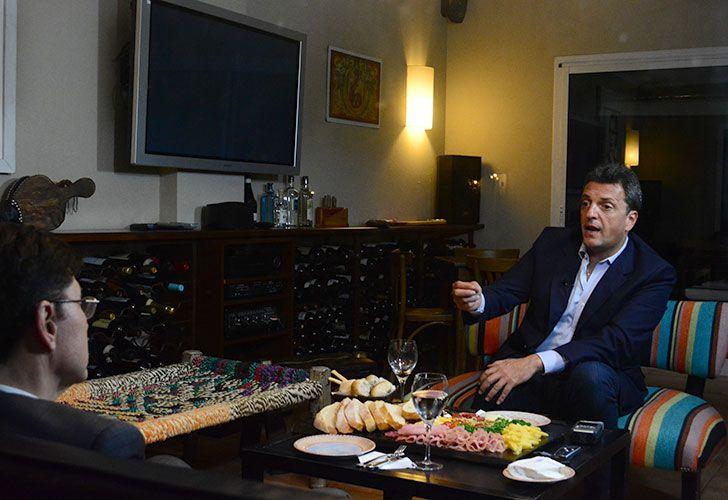 Entrevista a Sergio Massa