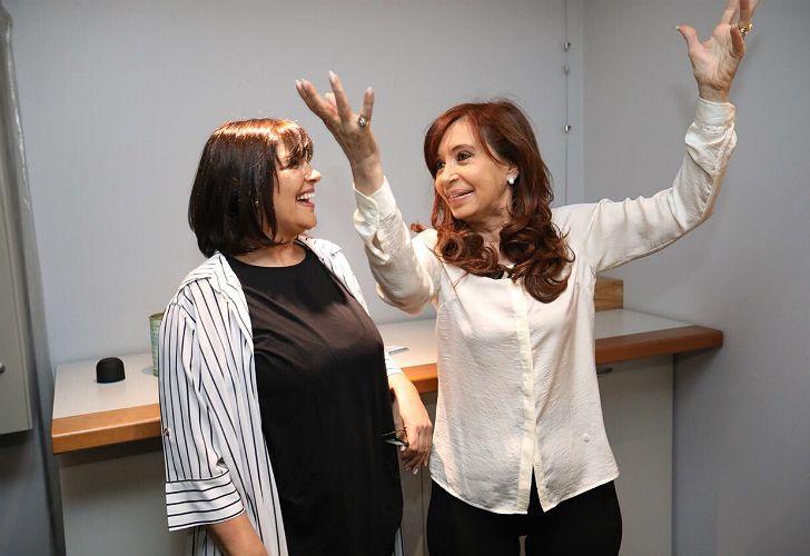 Cristina Fernández de Kirchner, entrevistada por Vernaci.