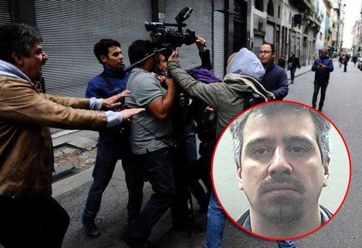 David Néstor Jabif de Sousa, uno de los acusados por los disturbios ocurridos en la última marcha a Plaza de Mayo en reclamo de la aparición de Santiago Maldonado.