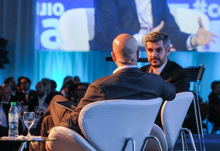 El jefe de Gabinete, Marcos Peña, estuvo en el 53° coloquio de IDEA, realizado en Mar del Plata.