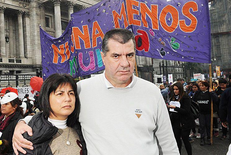 """Lucha. Los papás de la joven de 21 años asesinada en abril pasado en Gualeguay destacaron el trabajo de los fiscales. """"Tenemos un grupo de fiscales jóvenes que  están comprometidos para que tengamos otro tipo de Justicia"""", dijeron a PERFIL."""