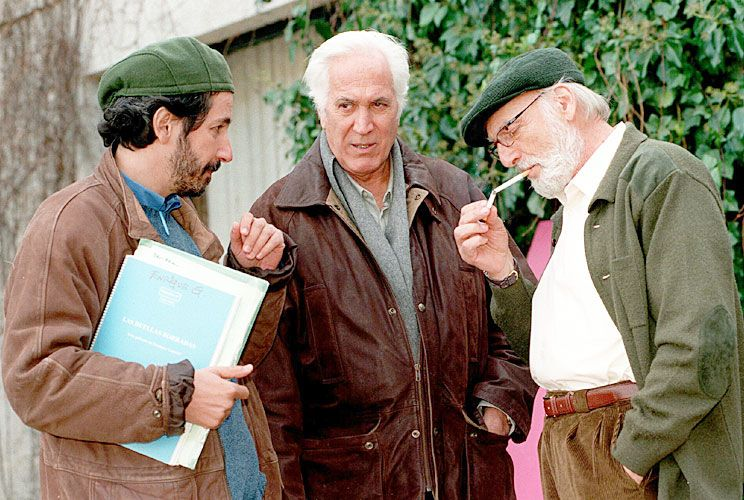 Generación. Junto a Héctor Alterio, un actor con el que compartió varias películas y grandes momentos personales.