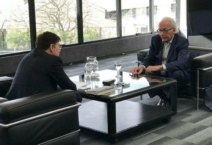 El intelectual francés fue entrevistado por Jorge Fontevecchia.