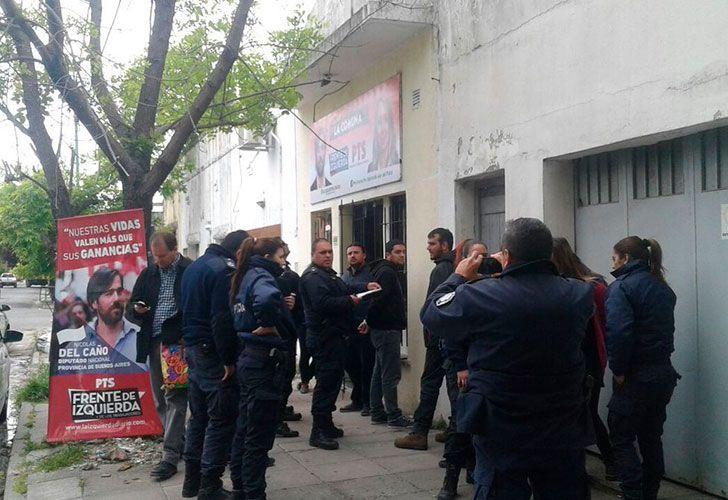 Detienen a militantes y candidatos del FIT en Mar del Plata