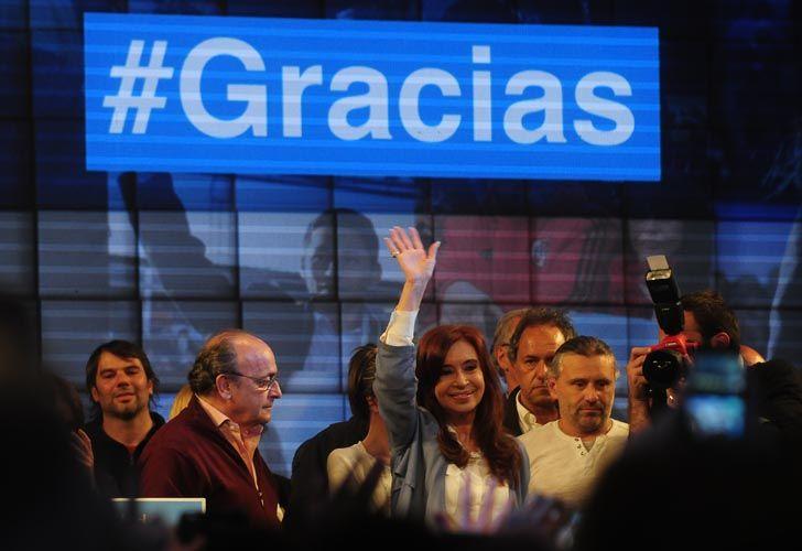 Cristina y su equipo hace referencia a la elección que han conseguido.
