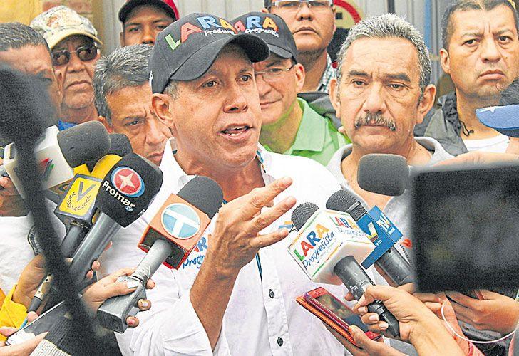 "En carrera. Falcón dijo anteayer que Maduro conduce un ""gobierno fracasado""."