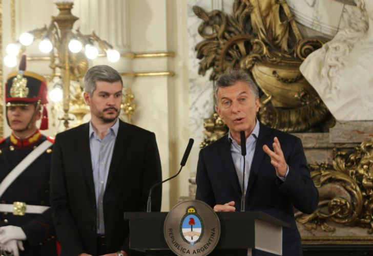Luego del triunfo de Cambiemos, el presidente Mauricio Macri brindó una conferencia de prensa.