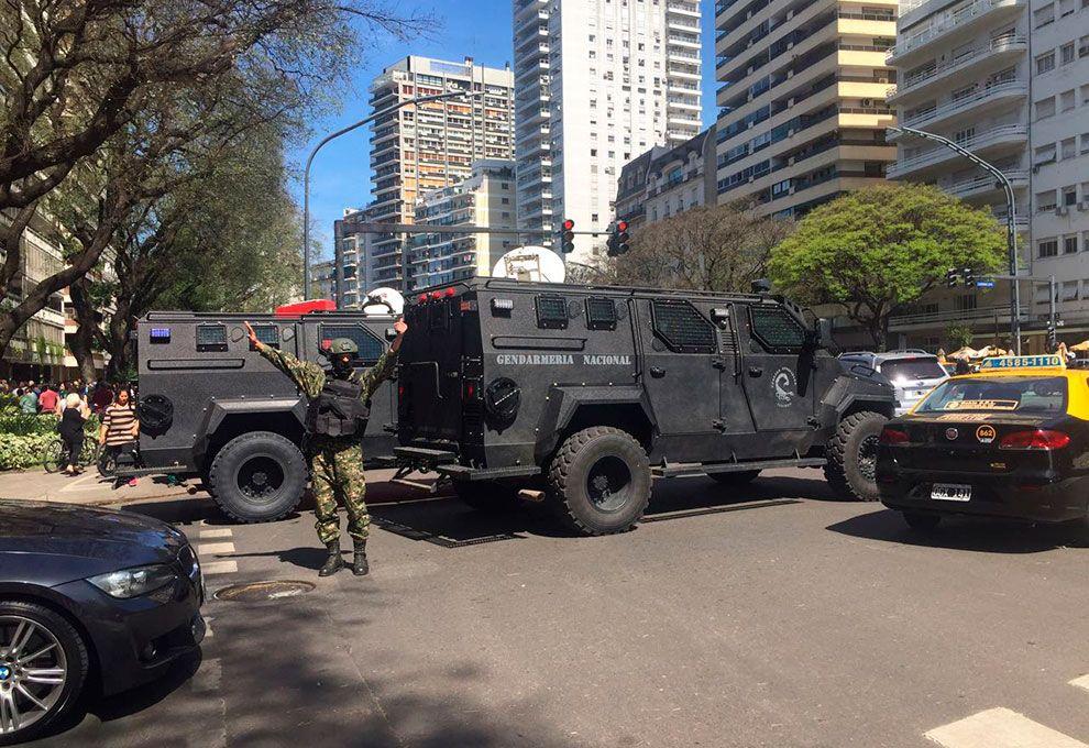 Gendarmería fue a detener a Julio De Vido