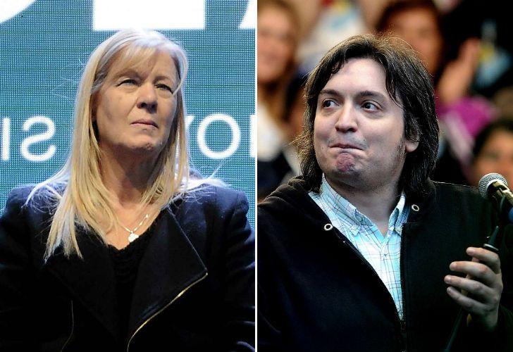 Margarita Stolbizer apuntó contra Máximo Kirchner.