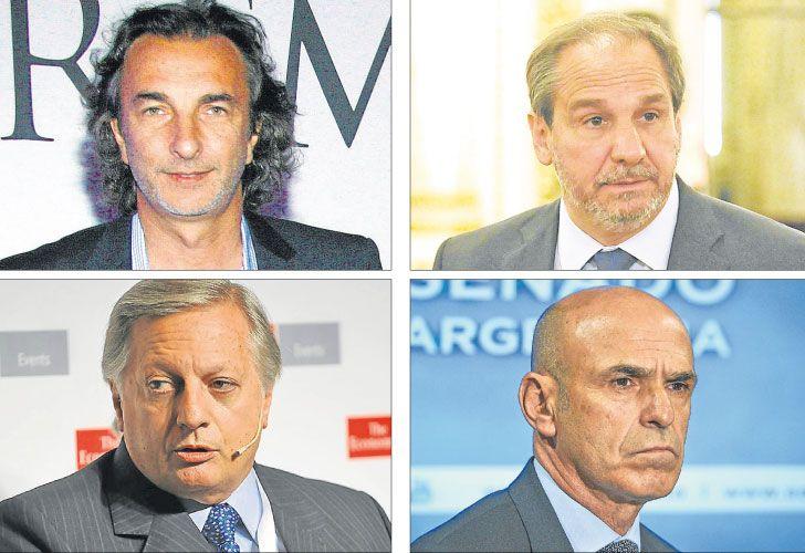 Poker. En Gobierno insisten que no hay pruebas contra Calcaterra, Caputo, Aranguren y Arribas.