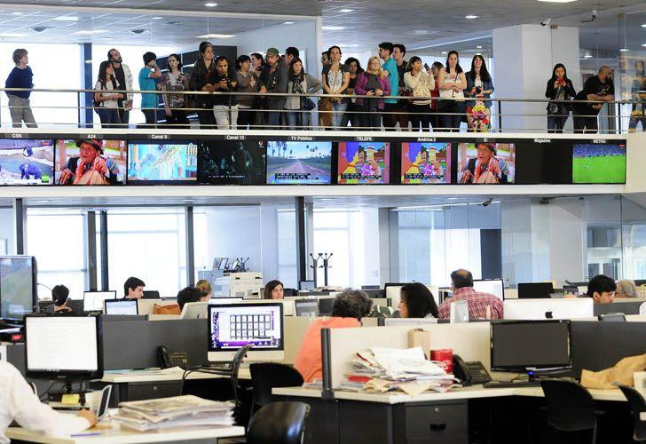 La editorial Perfil es uno de los edificios de la Ciudad de Buenos Aires que hoy abre sus puertas en el marco de Open House Buenos Aires.