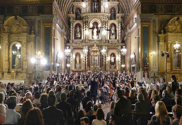 GRATUITO. La entrada a los seis conciertos previstos desde el miércoles es libre y gratuita, hasta completar la capacidad de los recintos.