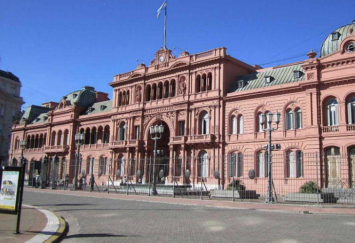 Archivo. Casa Rosada.