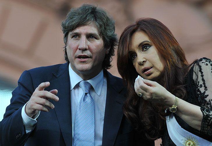 Cristina Fernández de Kirchner y Amado Boudou