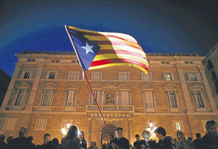 Simbolo. El edificio de la Generalitat, un emblema del autogobierno catalán.