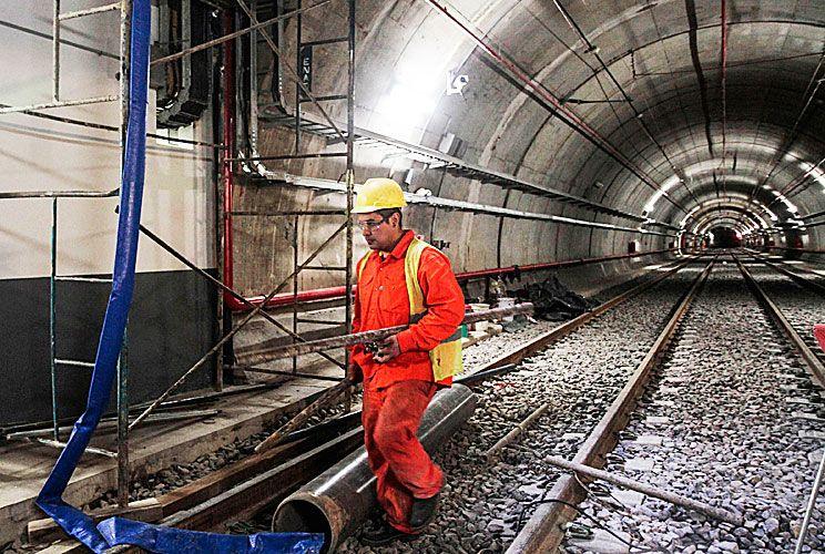 Bajo tierra. Las obras del subte, entre las más consultadas.