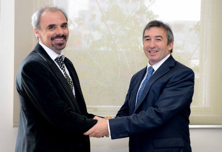 Nicolás Negri y Santiago Otamendi, funcionarios del ministerio de Justicia.