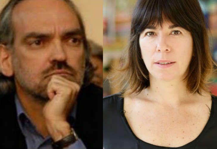 Se cruzaron Fernando Iglesias y María O´Donnell