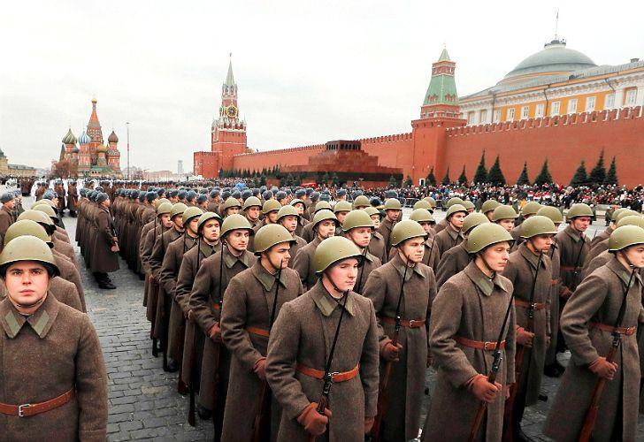 Rusia celebra el centenario de la Revolución de Octubre