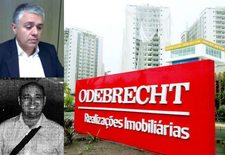 Olivio Rodrigues Junior (arriba) y Fernando Migliaccio (abajo), dos de los hombres detrás de la estructura offshore de Odebrecht