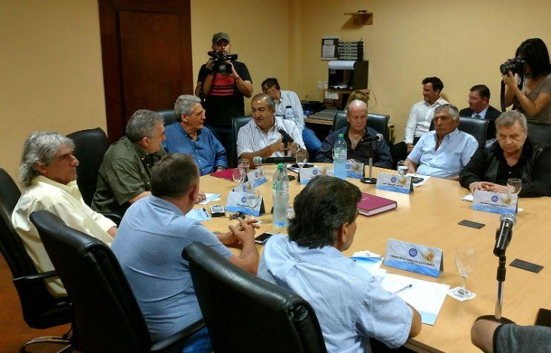 Encuentro en Azopardo para definir la posición de la CGT