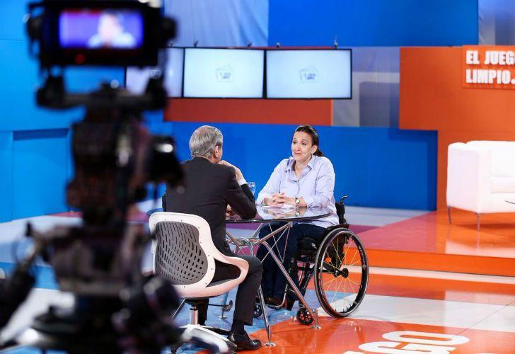 Michetti entrevistada por Nelson Castro en El Juego Limpio.