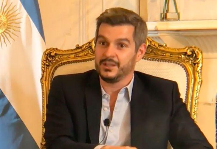 Marcos Peña, jefe de gabinete de la nación.