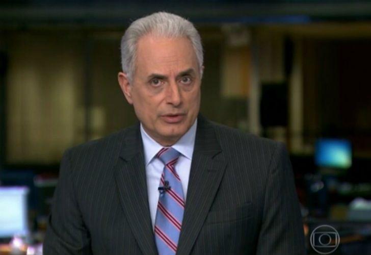 William Waack, presentador de O'Globo suspendido por su comentario racista,